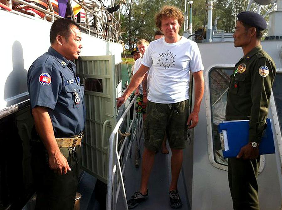 Полонский отпущен властями Камбоджи под подписку о невыезде