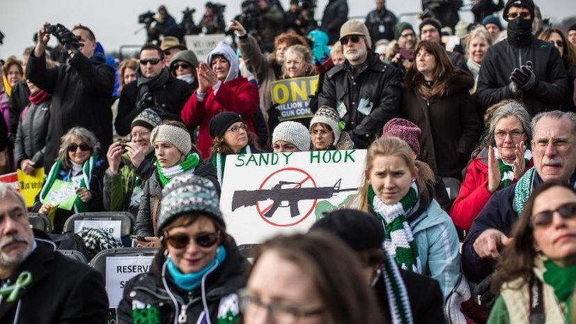 В Вашингтоне прошел марш противников огнестрельного оружия
