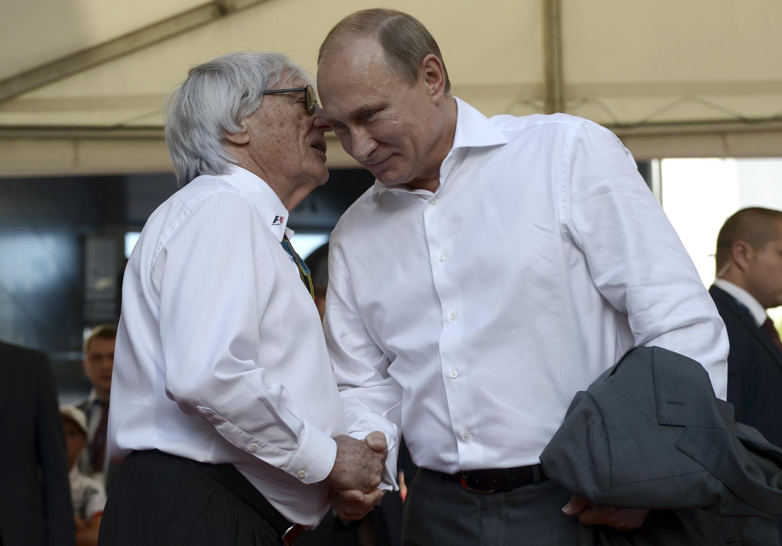 Берни Экклстоун: «Формула-1» будет в России столько, сколько Путин сочтёт нужным