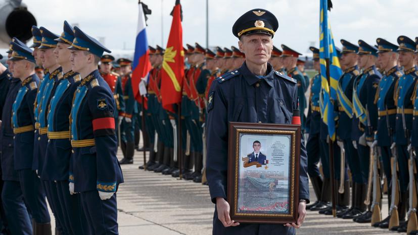 Передавший свои награды семье Прохоренко француз: Я благодарю русский народ за их победу