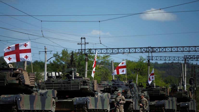 Весеннее обострение: США и НАТО проводят учения сразу в трёх республиках бывшего СССР