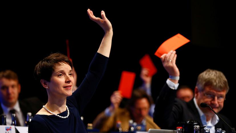 Альтернатива против: немецкие депутаты выступили за отмену антироссийских санкций