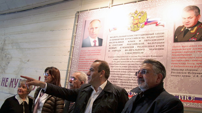Прибывшие в Крым итальянские сенаторы: Что думают в Киеве о визите — это их дело