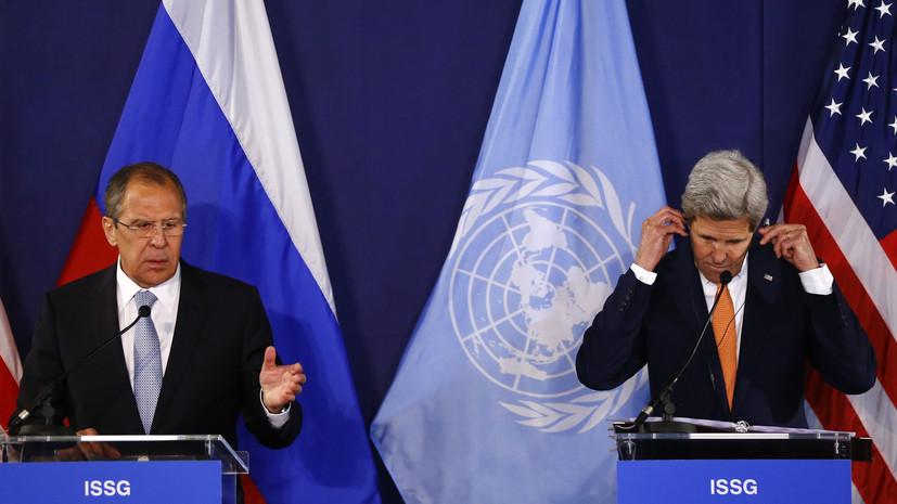 Сергей Лавров: Привычка США и ЕС чуть что хвататься за санкции ошибочна