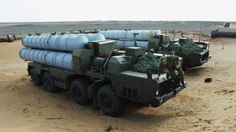 Россия поставила Ирану часть первой партии ЗРК С-300