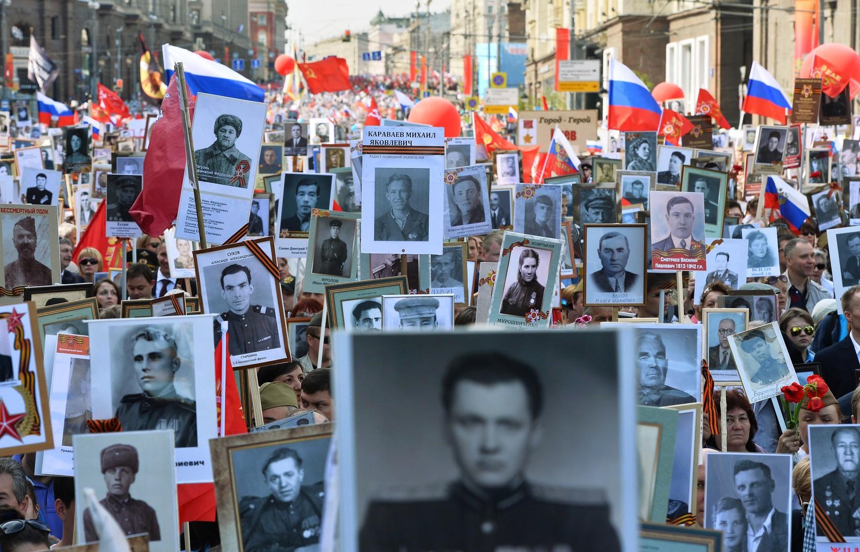 Бессмертный полк мира: памятная акция пройдёт в 39 странах