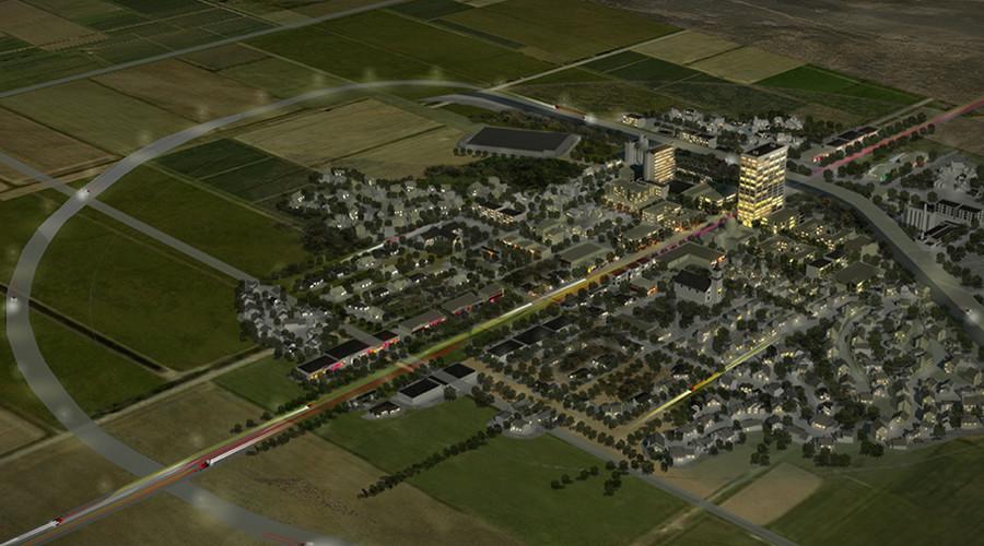 Zelenograd: экспериментальный экогород без жителей построят в Нью-Мексико