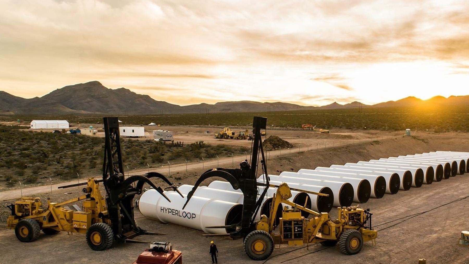 Петля времени: в США пройдут первые тесты проекта сверхзвукового поезда Hyperloop
