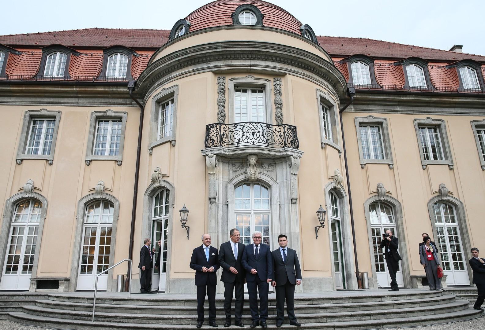 «Нормандская четвёрка» обсудила в Берлине украинский вопрос