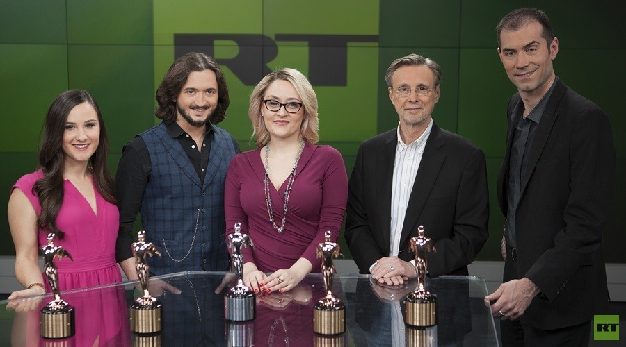 RT America получил 10 наград премии Telly Awards