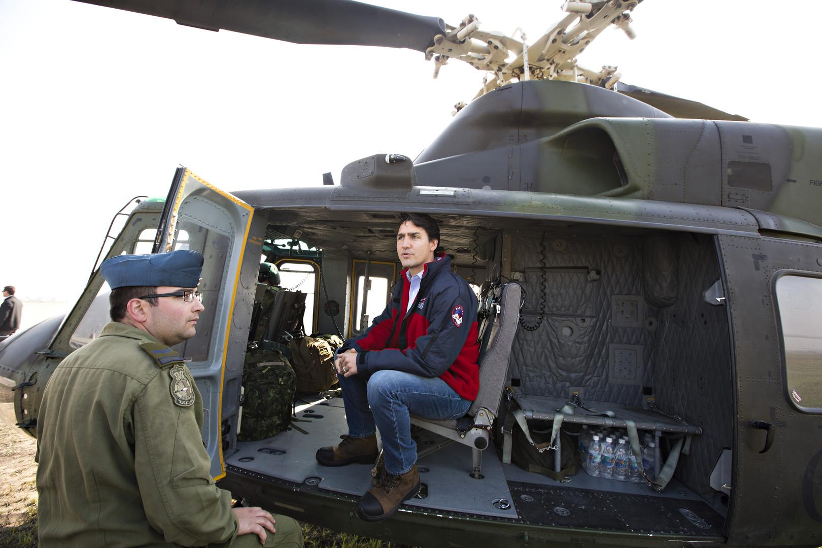 Джастин Трюдо направляется в провинцию Альберта