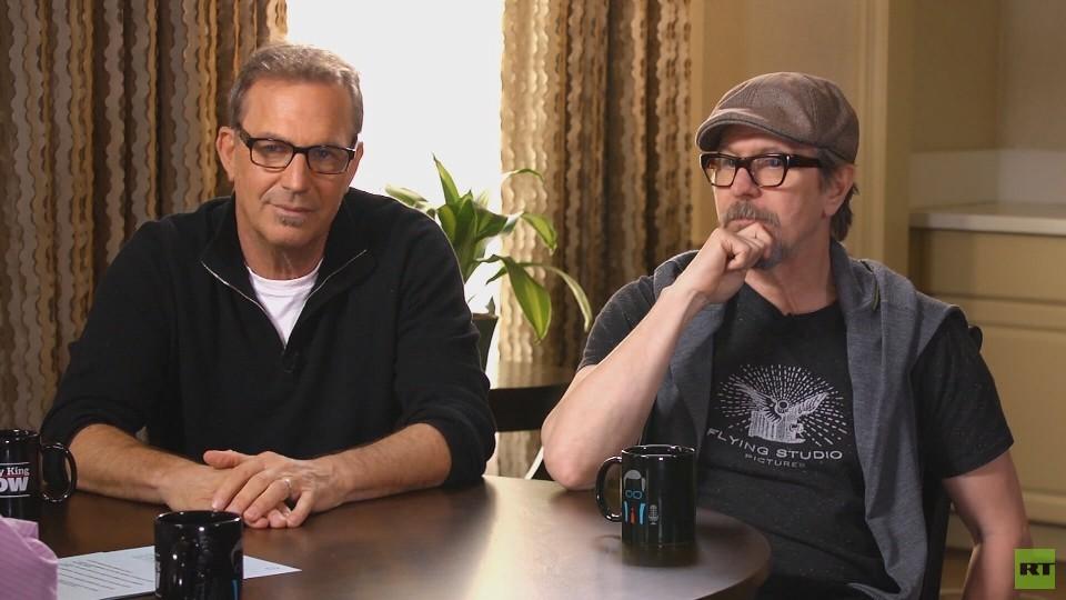 Гари Олдман и Кевин Костнер в интервью Ларри Кингу на RT: Америка уже не та, что раньше