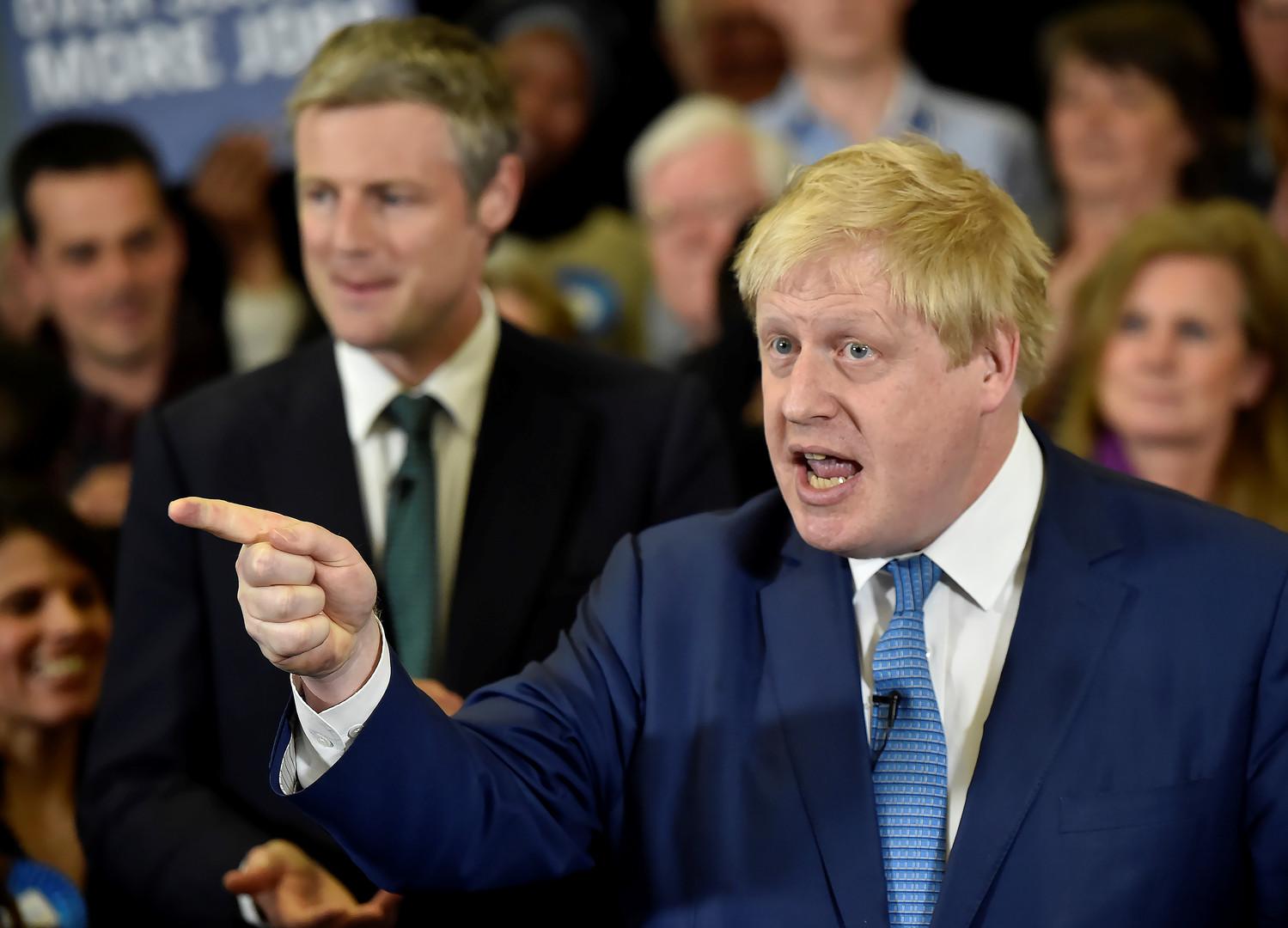 Экс-мэр Лондона Борис Джонсон: Политика ЕС отличается от гитлеровской лишь методами