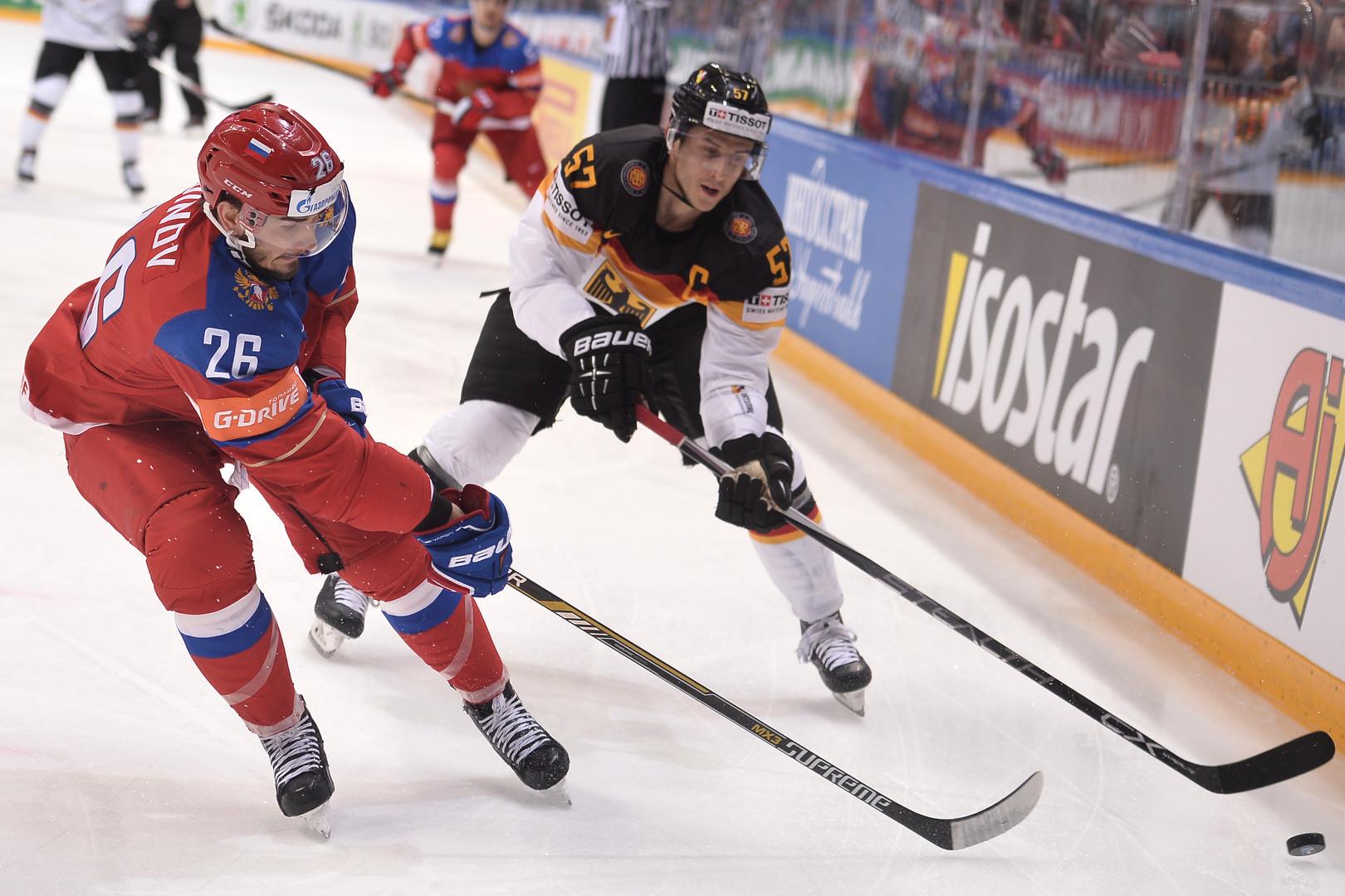 Россия обыграла Германию и вышла в полуфинал ЧМ по хоккею