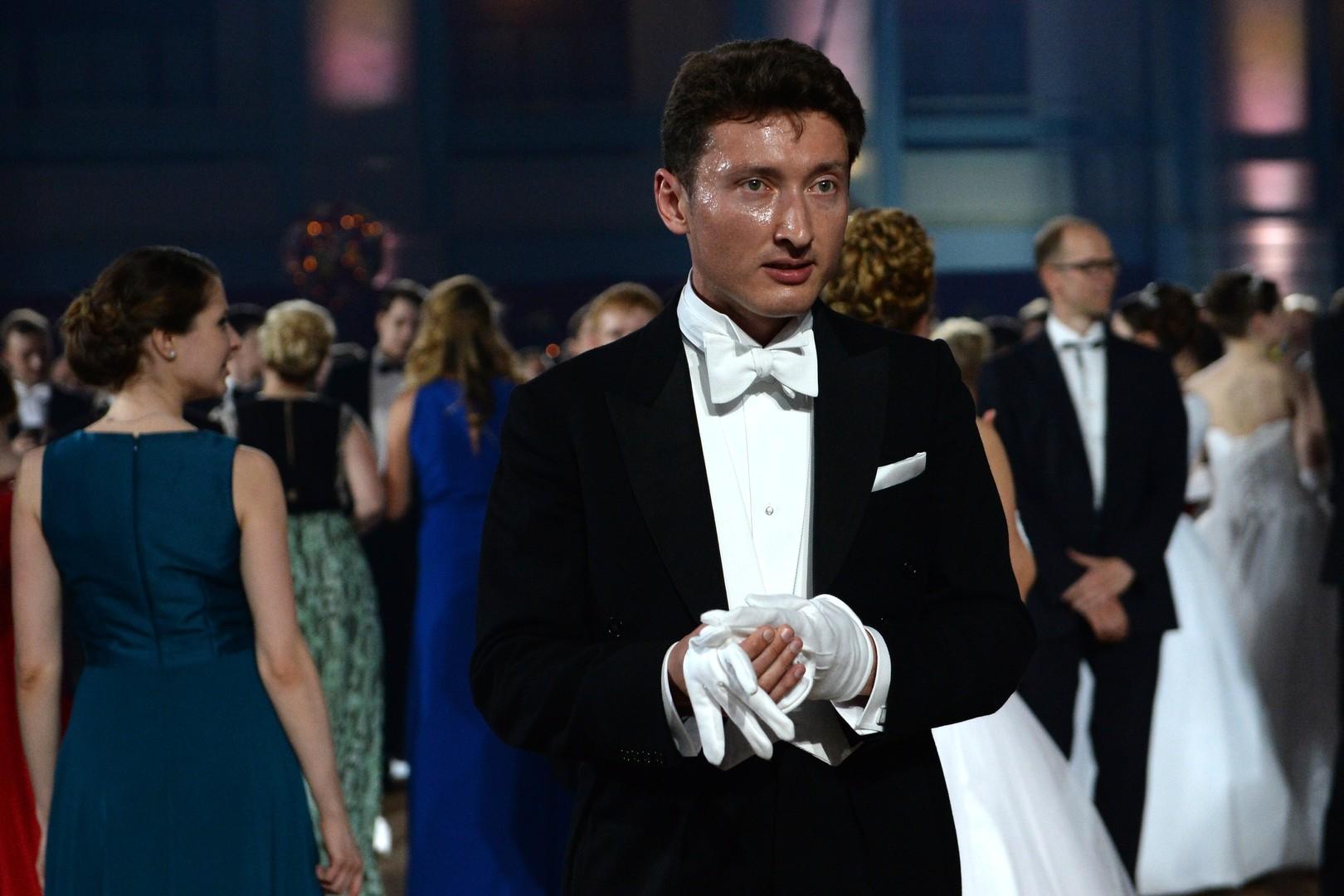 Гость XIV благотворительного Венского Бала в Гостином дворе в Москве