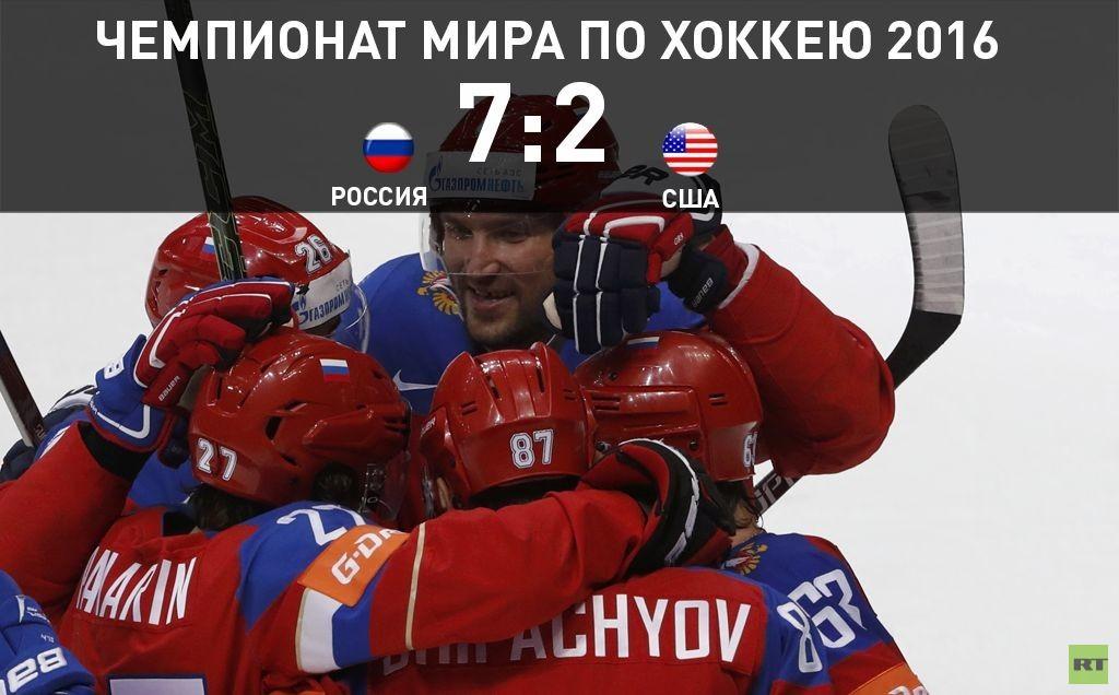 Сборная России завоевала бронзу на ЧМ-2016 по хоккею
