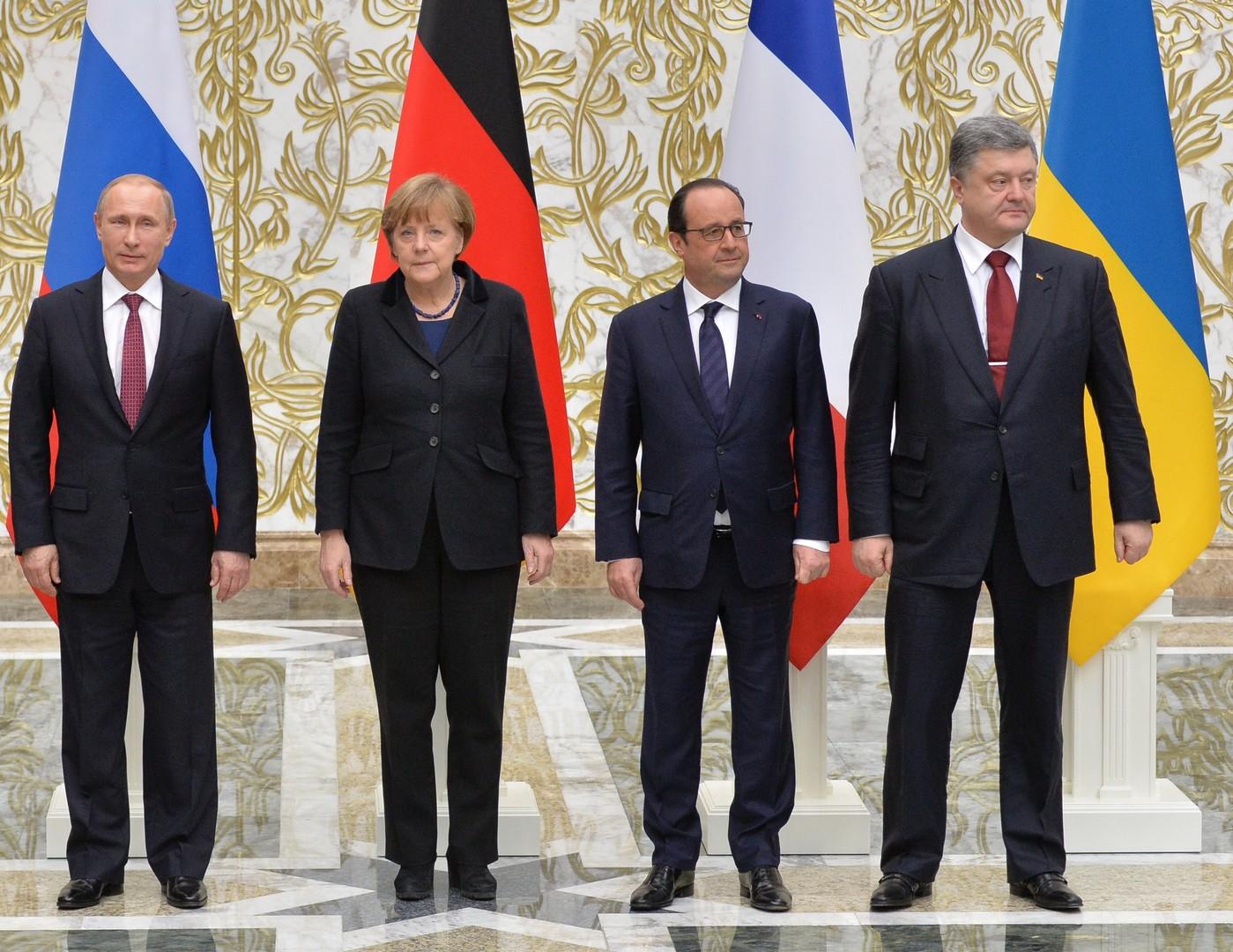 Ночной разговор «четвёрки»: лидеры обсудили Донбасс и выполнение Минских соглашений