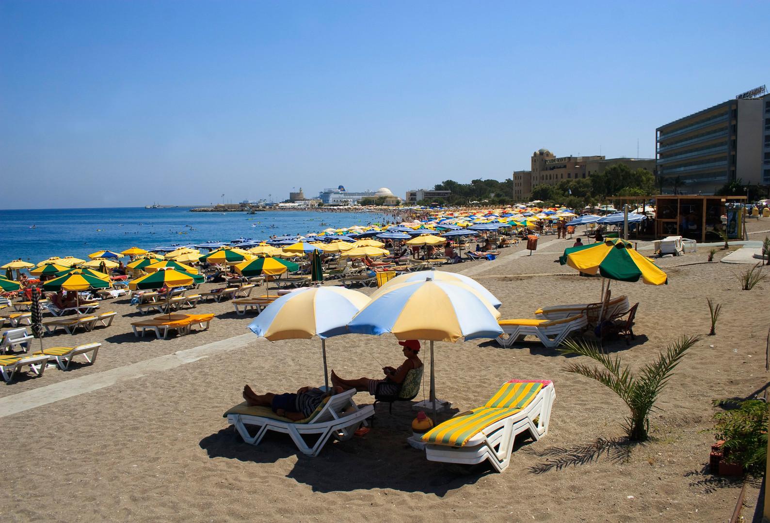 Солнце. Более 300 дней в году в Греции стоит солнечная погода.