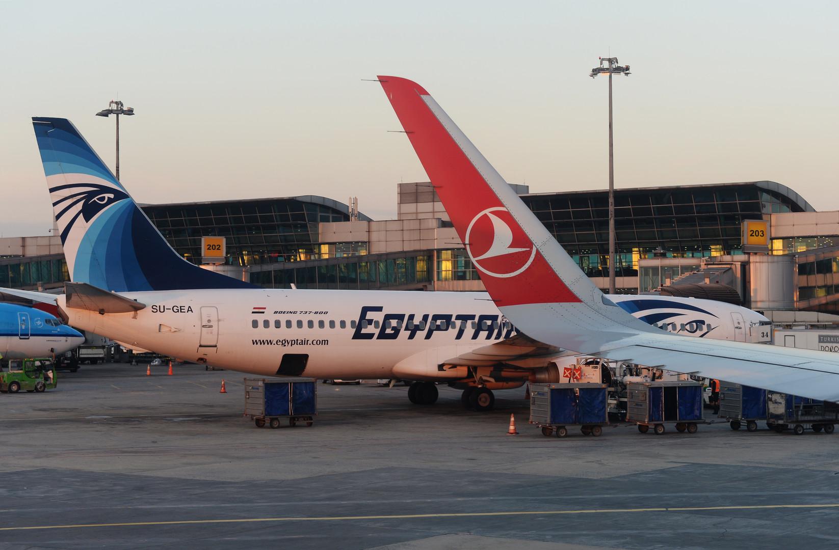 WSJ: Причиной катастрофы EgyptAir мог быть ложный сигнал о задымлении