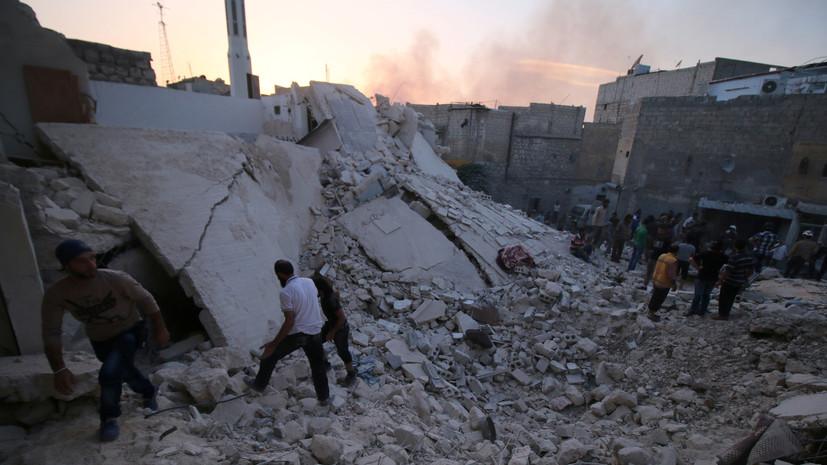 В Сирии за сутки под обстрелами боевиков погибли более 270 мирных жителей
