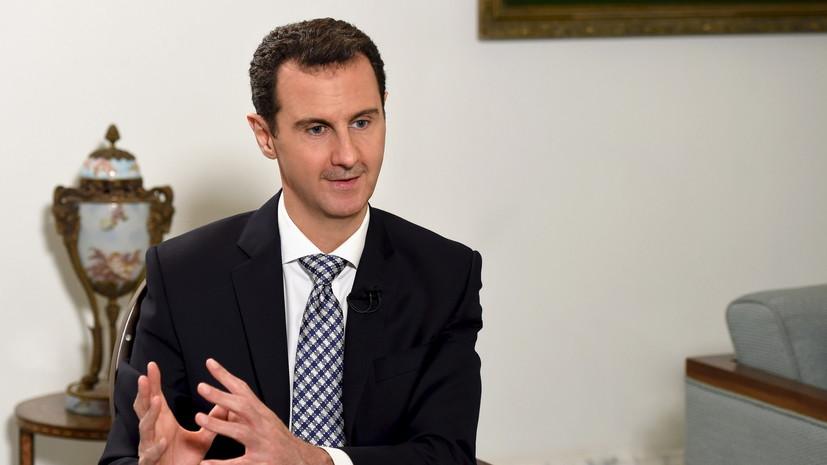 Башар Асад: Пока существуют Россия, Китай и Иран, разгром терроризма неминуем