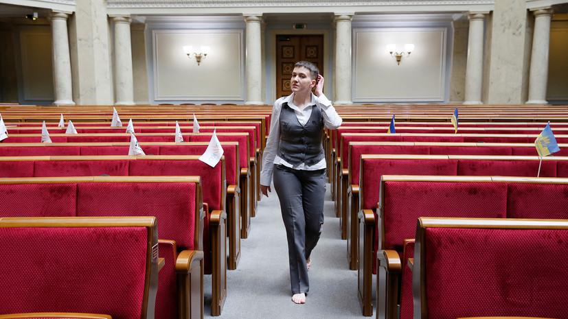 И швец, и жнец, и прямиком в дворец: какую судьбу прочат Савченко украинцы