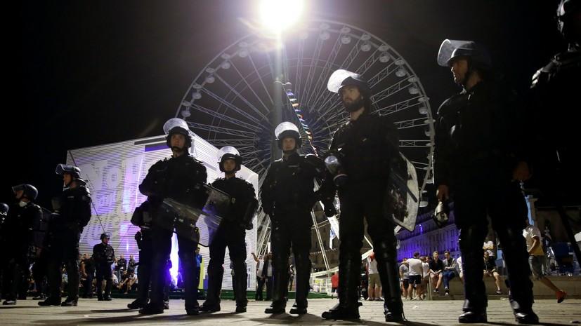 Источник: В ходе беспорядков в Марселе пострадали пятеро россиян