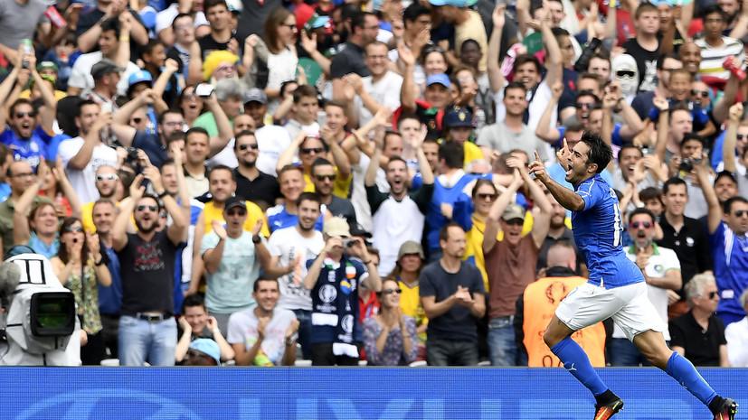 Сборная Италии обыграла команду Швеции