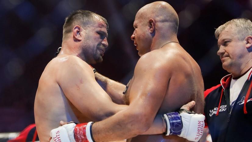 Фабио Мальдонадо заявил о несправедливой победе Фёдора Емельяненко в бою с ним
