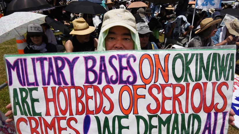 Остров насилия: как американские военные ведут себя на Окинаве