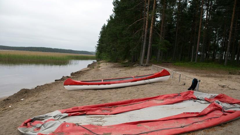 СК РФ: Все погибшие на озере в Карелии – дети 12-14 лет
