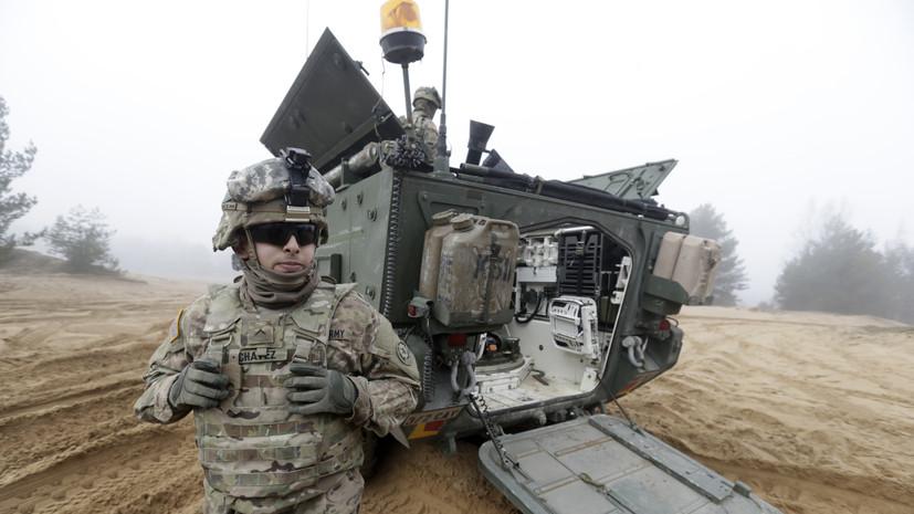 США укрепят восточный фланг НАТО 5 тыс. военных