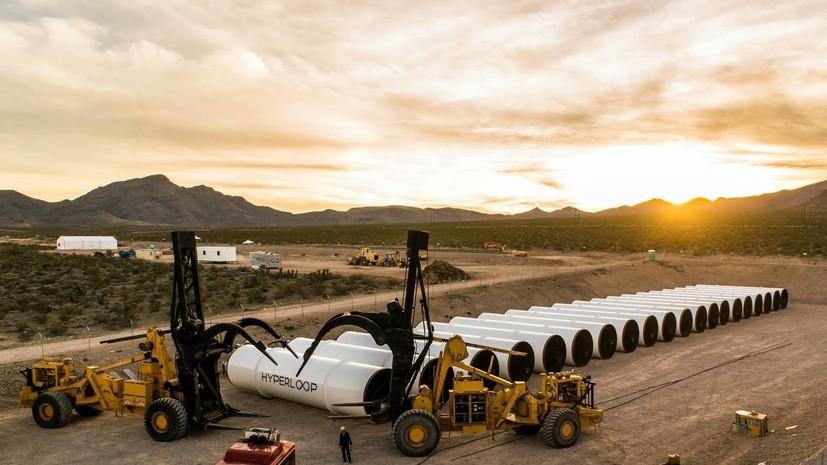 Владимир Путин пообещал поддержать проект вакуумного поезда Hyperloop