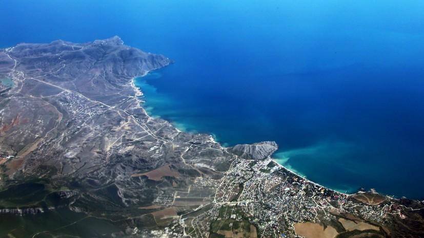 В свободную экономическую зону Крыма включат прибрежные воды