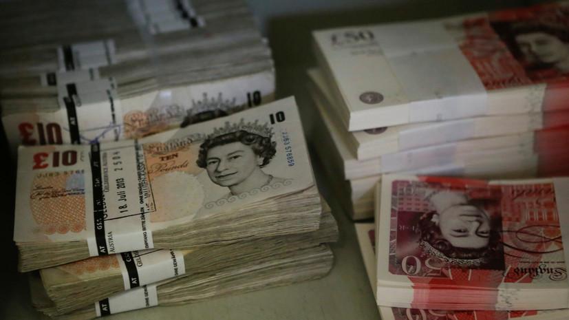 Курс британского фунта рухнул