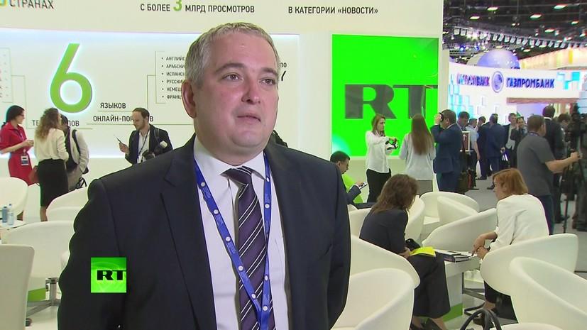 Исполнительный директор «Сибура» рассказал RT о стратегических планах и новых проектах