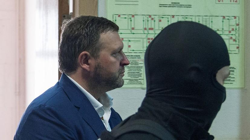 Никита Белых арестован на два месяца