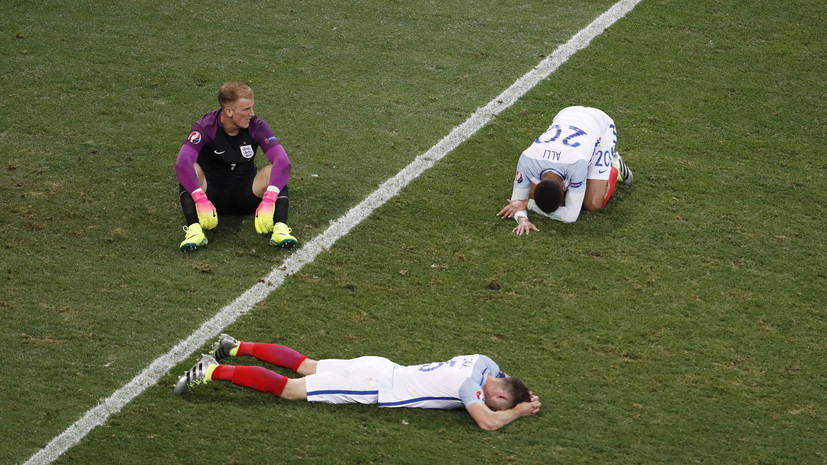 Выход навылет: в соцсетях связали проигрыш английской сборной на Евро-2016 с брекситом