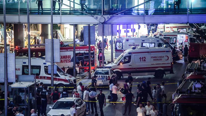 Источник: Теракт в Стамбуле осуществили граждане Киргизии, Узбекистана и России