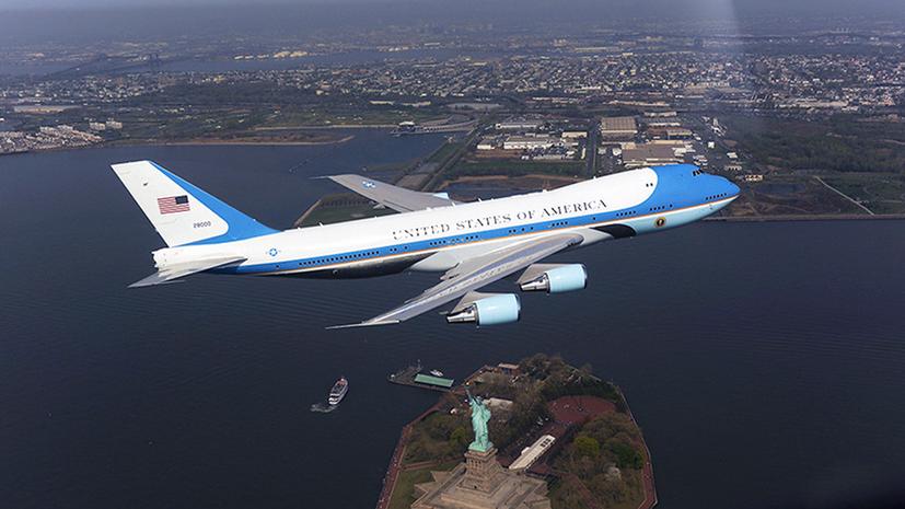 Авиабаза президентских самолётов в США оцеплена из-за стрельбы