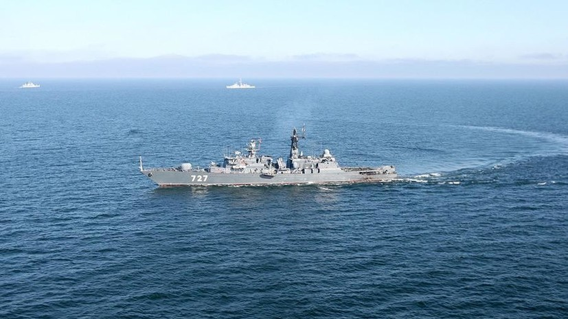 Минобороны ответило на заявление Пентагона об угрозе со стороны корабля ВМФ РФ