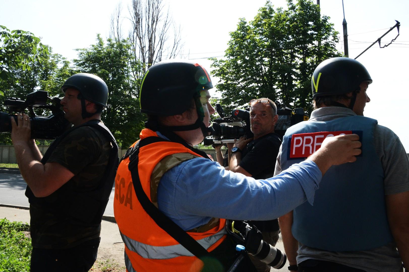 «Репортёры без границ»: СМИ на Украине находятся в очень тяжёлом положении