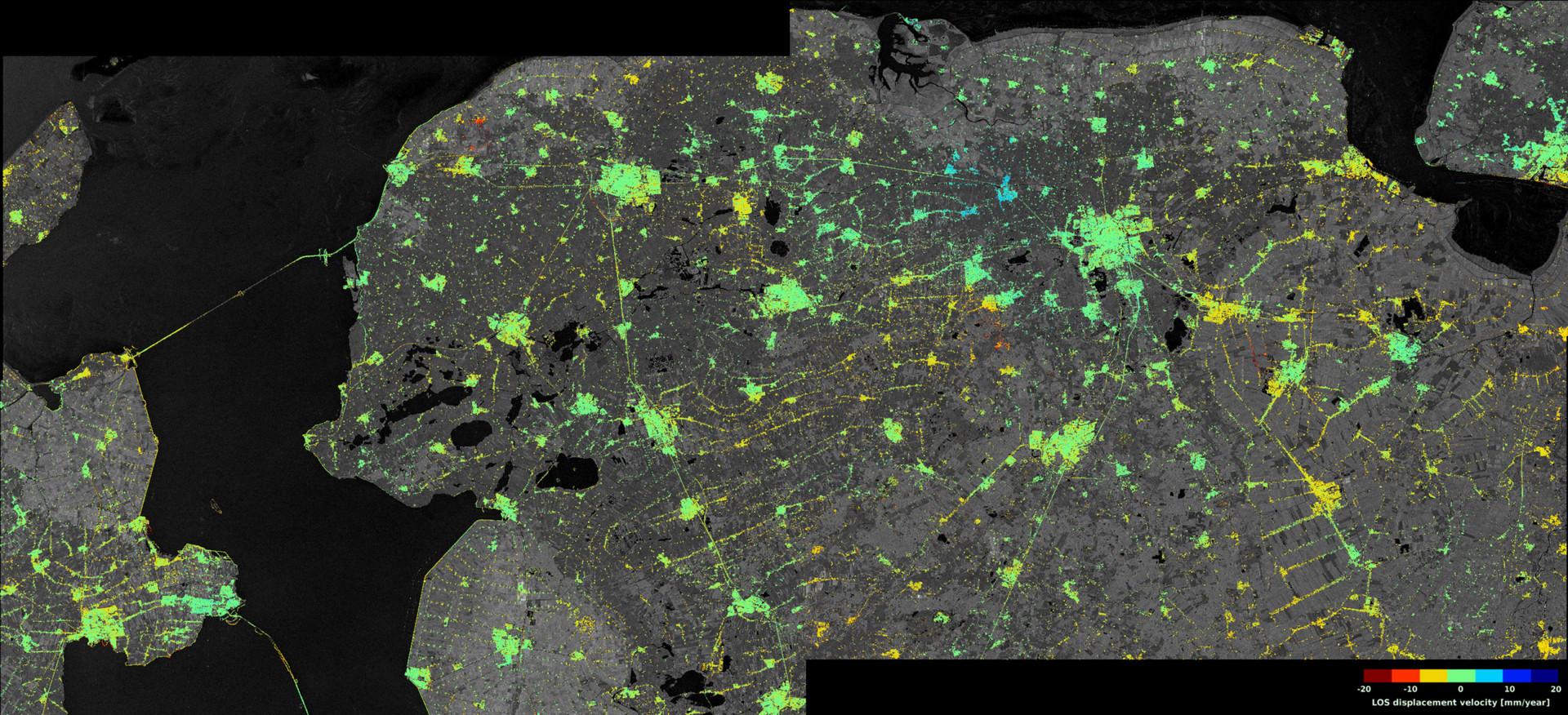 Страна ниже уровня моря: снимки со спутника подтвердили необратимое затопление Нидерландов