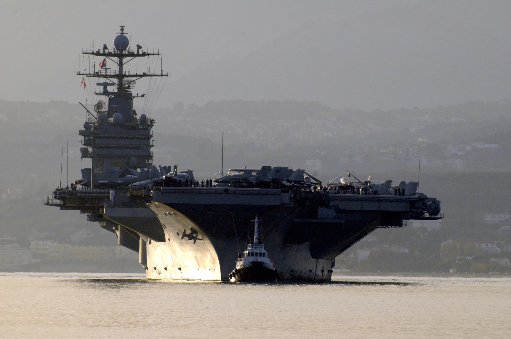 США впервые за 13 лет нанесли удар по цели на Ближнем Востоке с авианосца