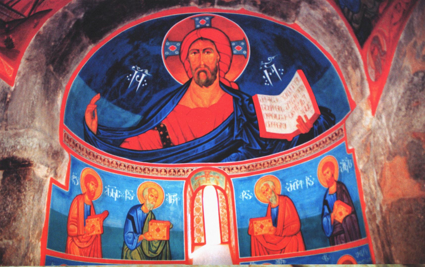 Антиохийская православная церковь в Мцхете. Фото из коллекции Нино Мелия.