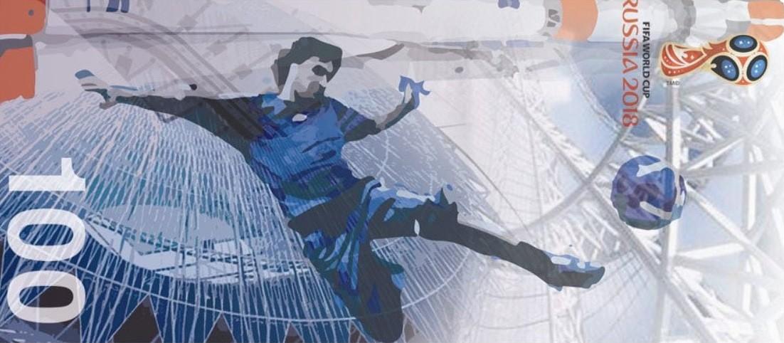 Футбол, сила, космос: автор идеи дизайна банкноты к ЧМ-2018 рассказала о его символах