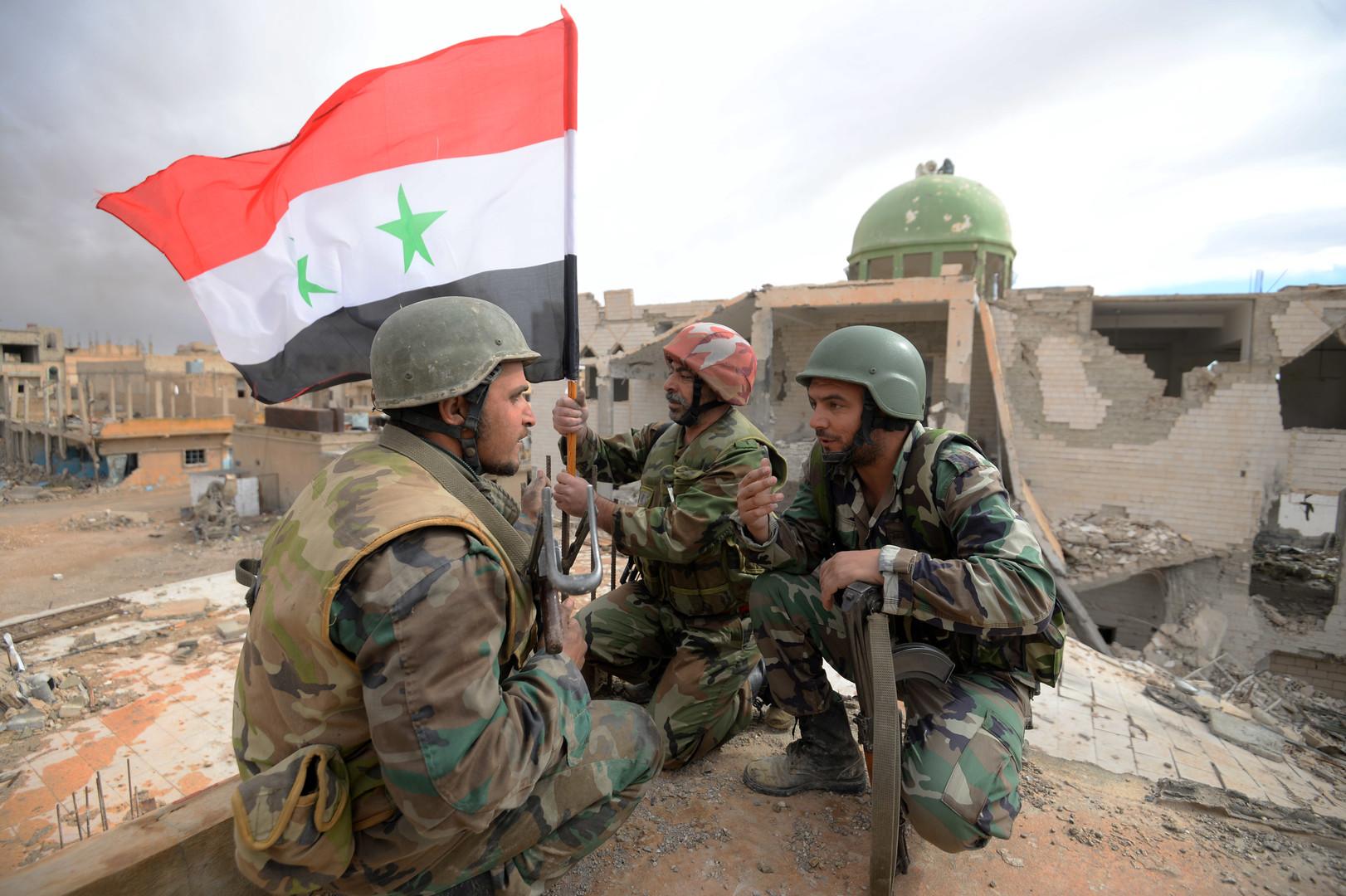 Армия Сирии отразила атаки террористов на юге Алеппо