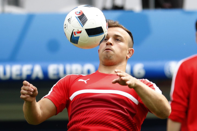 Сборная Швейцарии по футболу обыграла Албанию