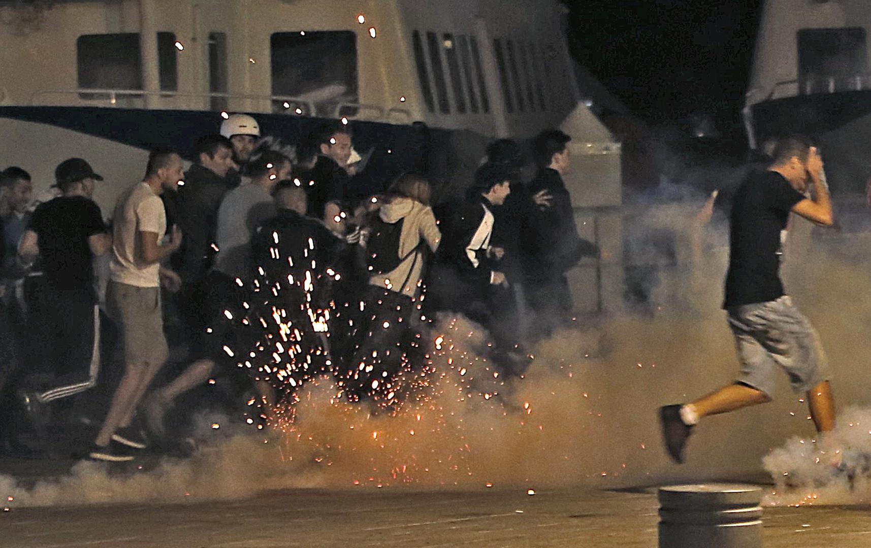 Число пострадавших в ходе беспорядков в Марселе достигло 35 человек