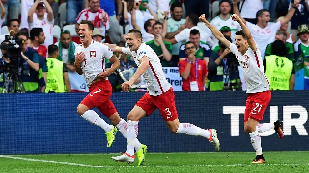 Польша с минимальным счётом обыграла сборную Северной Ирландии